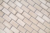 pic of paving  - Paving slabs laid on a flat surface - JPG