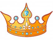 picture of tiara  - Beautiful shiny princess tiara - JPG