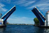 Drawbridge over intercoastal