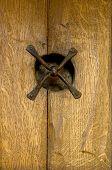 Rustic Door Detail