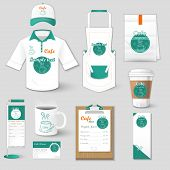 foto of packages  - Set of restaurant corporate identity - JPG
