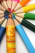 Coloê Pencils Around Of The Multi-Colour Brother