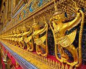 Golden garuda decoration