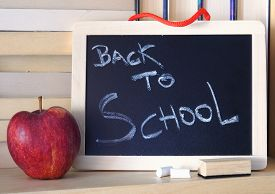foto of red back  - Back to school - JPG