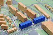 Architectural urbanistic design model