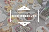 Food Words Picnic Party Appetite Meal poster