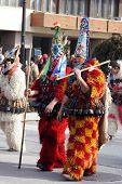 Bulgaria mummers parade 2008
