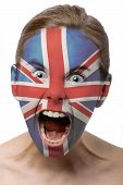 Face Paint : British Flag