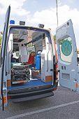 Opened Ambulance