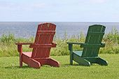 2 Chairs Reminding Us To Relax And Enjoy The View!