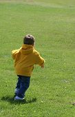 Untouched Photo Of Child Running To Play!