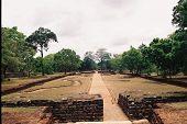 Ancient Architecture Of Sigiriya In Sri Lanka poster