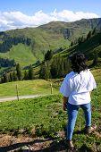 Lady Walker In The Tyrol