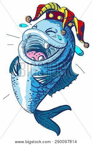 Fish Laugh April 1 Fools