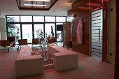 Modern spa and wellness space