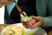 Decorating Cookie