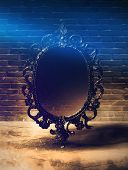Mirror magical, fortune telling and fulfillment of desires. Mirror magic, fortune telling and fulfil poster