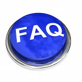 Isolated Faq Button