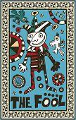 hand drawn tarot deck, major arcana,  the raster version, the fool
