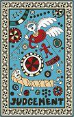 hand drawn tarot deck, major arcana, the raster version, judgement