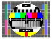 Tv Color Test Pattern