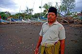 Постер, плакат: Мусульманские Рыбак Индонезия