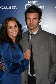 LOS ANGELES - NOV 11:  Rachael Leigh Cook, Daniel Gillies arrives at the Life Rolls On Foundation's