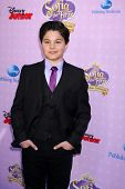LOS ANGELES - NOV 10:  Zach Callison arrives at the