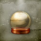 Magic ball, old-style vector