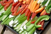 Veges  On Plate