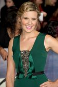 LOS ANGELES, CA - NOVEMBER 12: Actress Maggie Grace arrives at the premiere of The Twilight Saga: Br