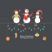 picture of christmas song  - Greeting card - JPG