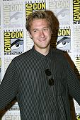 SAN DIEGO, CA - JULY 15: Arthur Darvill arrives at the 2012 Comic Con convention press room at the B