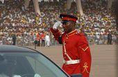 Ghanain Soldier