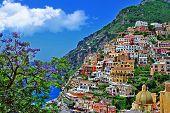 pictorial Amalfitana coast - Positano