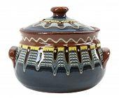 Blue Clay Pot