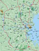 Boston Metropolitan Area Map