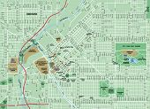 Downtown Denver Colorado Map