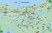 New Orleans Metropolitan Area Map