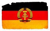 Grungy Flag - DDR