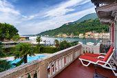 Lake Garda In Toscolano-maderno, Italy
