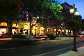 BEVERLY HILLS, CALIFORNIA, USA - JULY 27, 2013 : Cars passing the Beverly Wilshire Hotel on Wilshire