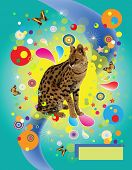 Cover  A Jaguar And Butterflies
