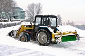 Clearing Snow Snowplows