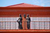 Fort Ilocandia Resort, Ilocos Norte, Philippines Exterior Statue