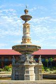 Fort Ilocandia, Ilocos Norte, Philippines  Fountain