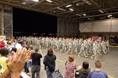 Armee Homecoming-Bereitstellung