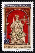 Postage Stamp France 1999 Richard I, The Lionheart