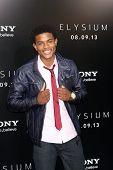 LOS ANGELES - AUG 7:  Trevor Jackson arrives at the