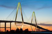Charleston South Carolina Arthur Ravenel Cooper River Bridge